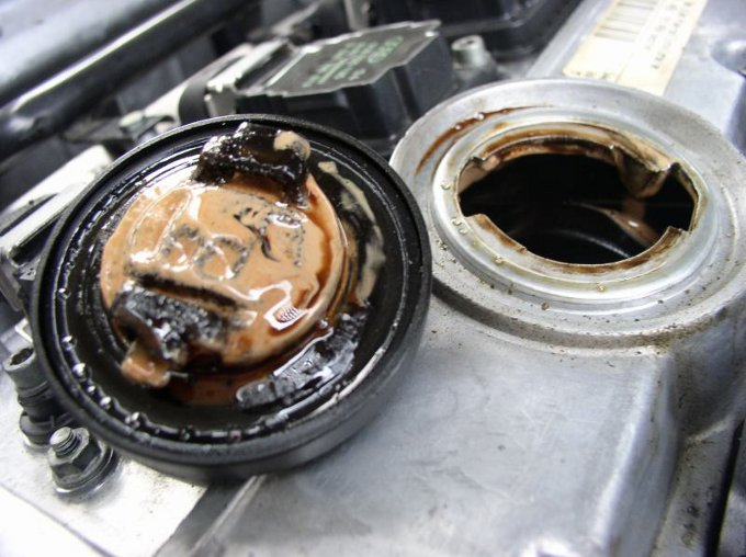 engine oil sludge damage engine free engine image for On water in motor oil